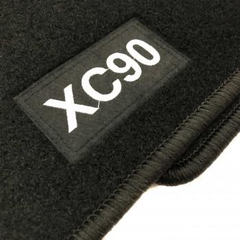 Alfombrillas Volvo XC90 5 plazas (2002 - 2015) a medida Logo