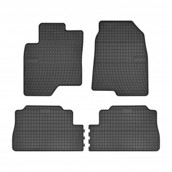 Alfombrillas Chevrolet Captiva 5 plazas (2006 - 2011) Goma