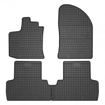 Alfombrillas Dacia Lodgy 5 plazas (2012 - actualidad) Goma