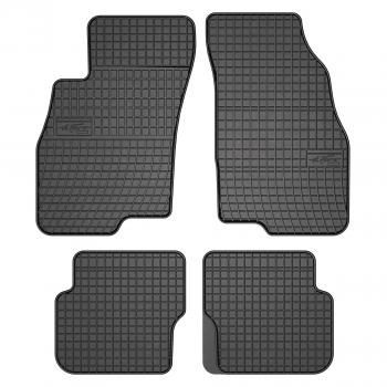 Alfombrillas Fiat Punto Abarth Evo 3 asientos (2010 - 2014) Goma