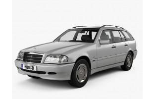 Alfombrillas bandera Alemania Mercedes Clase-C S202 Familiar (1996 - 2000)