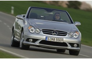 Protector maletero reversible para Mercedes CLK A209 Cabrio (2003 - 2010)