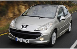 Alfombrillas bandera Francia Peugeot 207 3 o 5 puertas (2006 - 2012)