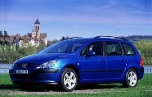 Rey Alfombrillas/® Goma 2001-2009 El Toro Alfombrillas Peugeot 307 Ranchera