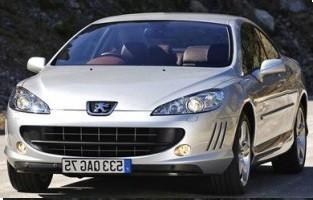 Alfombrillas bandera Francia Peugeot 407 Coupé (2004 - 2011)