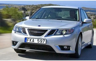 Alfombrillas bandera Racing Saab 9-3 (2007 - 2012)