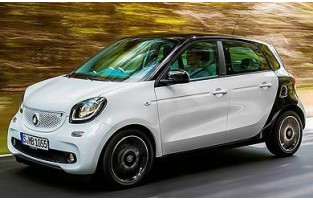 Protector maletero reversible para Smart Forfour W453 (2014 - actualidad)