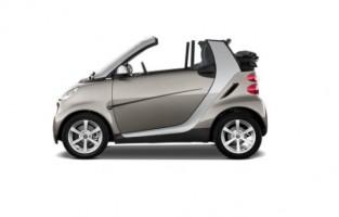 Alfombrillas Exclusive para Smart Fortwo A451 Cabrio (2007 - 2014)