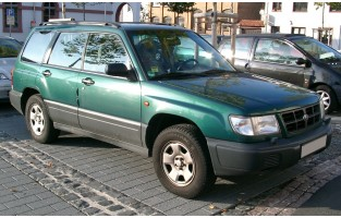 Alfombrillas bandera Racing Subaru Forester (1997 - 2002)