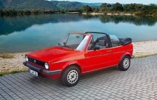 Alfombrillas Volkswagen Golf 1 Cabrio (1979 - 1993) Económicas